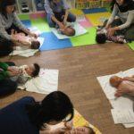 ベビーマッサージ教室@茨木・ほしのこひろば様